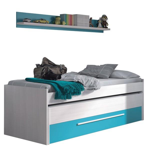 jak zařídit dětský pokoj jednolůžkové postele